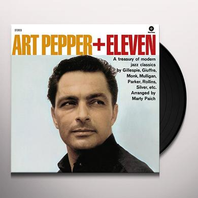 Art Pepper PLUS ELEVEN (BONUS TRACK) Vinyl Record - 180 Gram Pressing