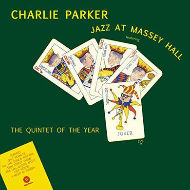 Charlie Parker JAZZ AT MASSEY HALL Vinyl Record - 180 Gram Pressing