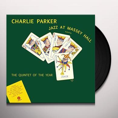 Charlie Parker JAZZ AT MASSEY HALL Vinyl Record - 180 Gram Pressing