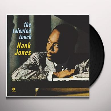 Hank Jones TALENTED TOUCH Vinyl Record