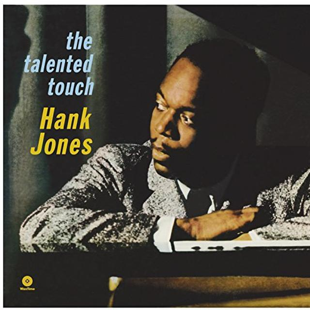 Hank Jones TALENTED TOUCH (BONUS TRACKS) Vinyl Record - 180 Gram Pressing