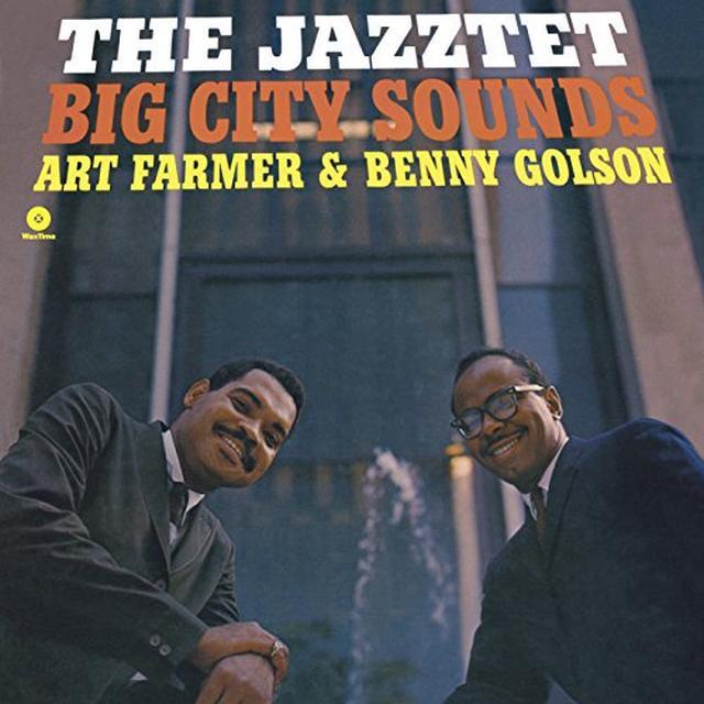 Art Farmer / Benny Golson JAZZTET BIG CITY SOUNDS (BONUS TRACK) Vinyl Record - 180 Gram Pressing