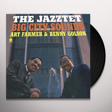 Art Farmer / Benny Golson JAZZTET BIG CITY SOUNDS (BONUS TRACK) Vinyl Record - 180 Gram Pressing