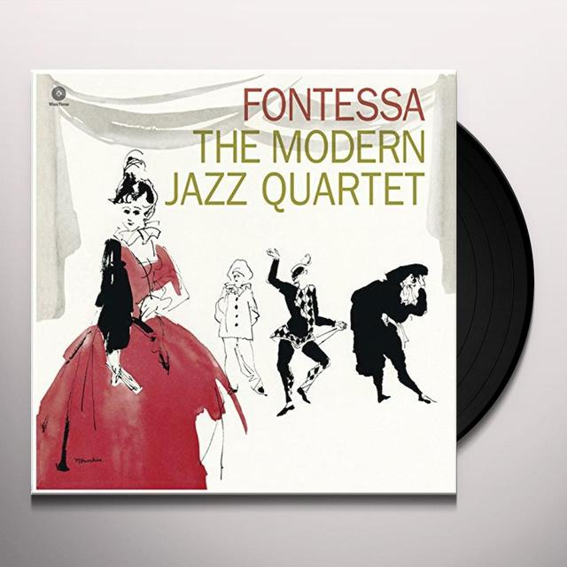 The Modern Jazz Quartet FONTESSA (BONUS TRACK) Vinyl Record - 180 Gram Pressing
