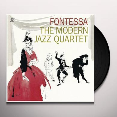 The Modern Jazz Quartet FONTESSA (BONUS TRACK) Vinyl Record - 180 Gram Pressing
