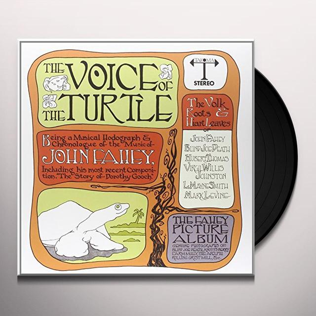 John Fahey VOICE OF TURTLE Vinyl Record - 180 Gram Pressing