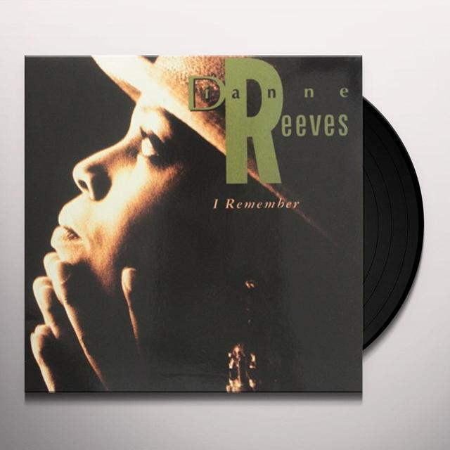 Dianne Reeves I REMEMBER Vinyl Record