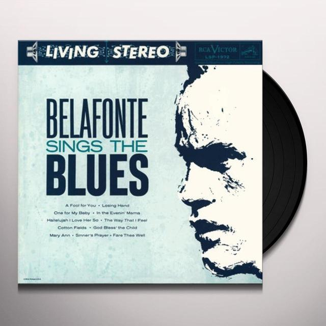 Harry Belafonte BELAFONTE SINGS THE BLUES (2PK) Vinyl Record