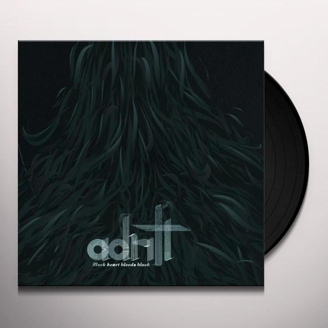 Adrift BLACK HEART BLEEDS BLACK Vinyl Record - Limited Edition