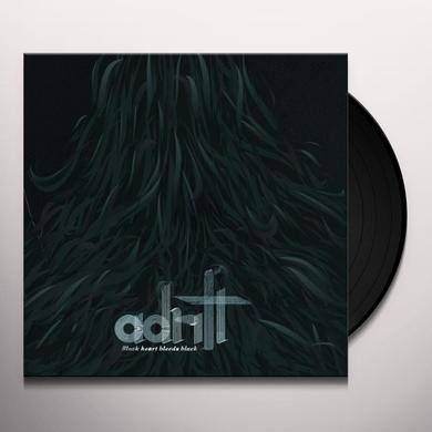 Adrift BLACK HEART BLEEDS BLACK Vinyl Record - Limited Edition