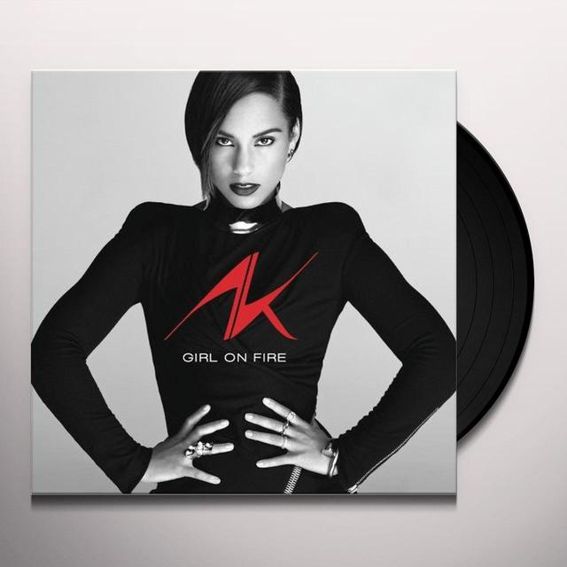 Alicia Keys GIRL ON FIRE Vinyl Record