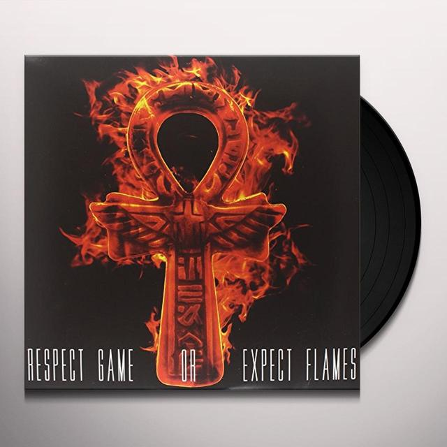 Casual & J. Rawls RESPECT GAME OR EXPECT FLAMES Vinyl Record - Digital Download Included