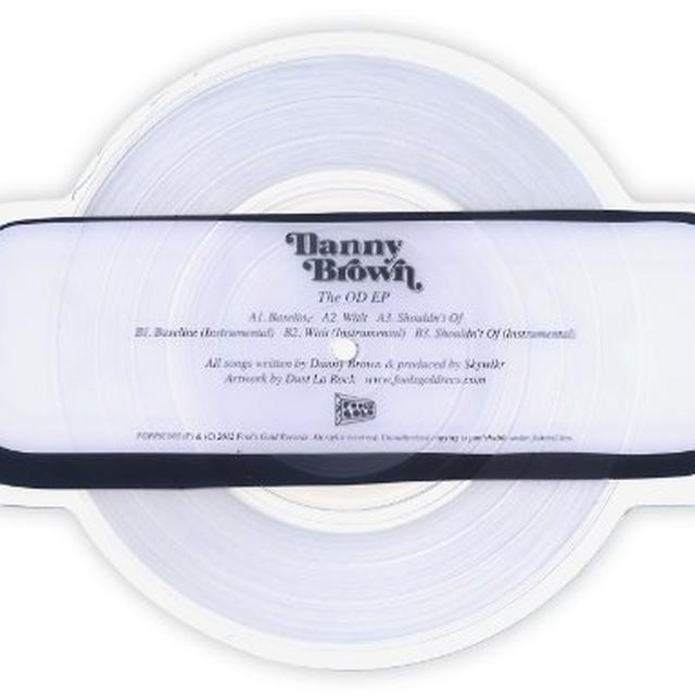 Danny Brown OD EP (PICT) (EP) (Vinyl)