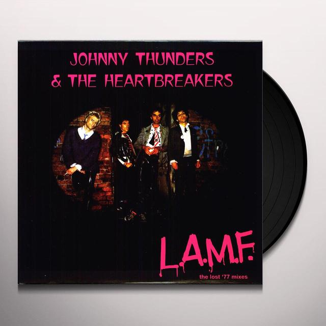 Johnny Thunders & The Heartbreaker L.A.M.F Vinyl Record - 180 Gram Pressing