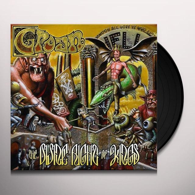 Groan DIVINE RIGHT OF KINGS Vinyl Record