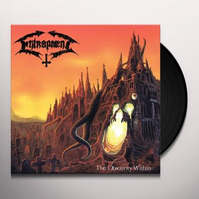 Entrapment OBSCURITY WITHIN Vinyl Record - Limited Edition, 180 Gram Pressing