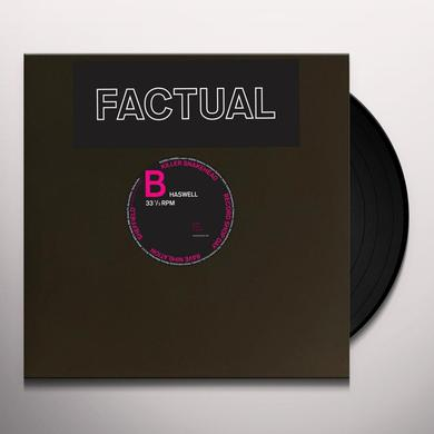 Russell Haswell FACTUAL Vinyl Record