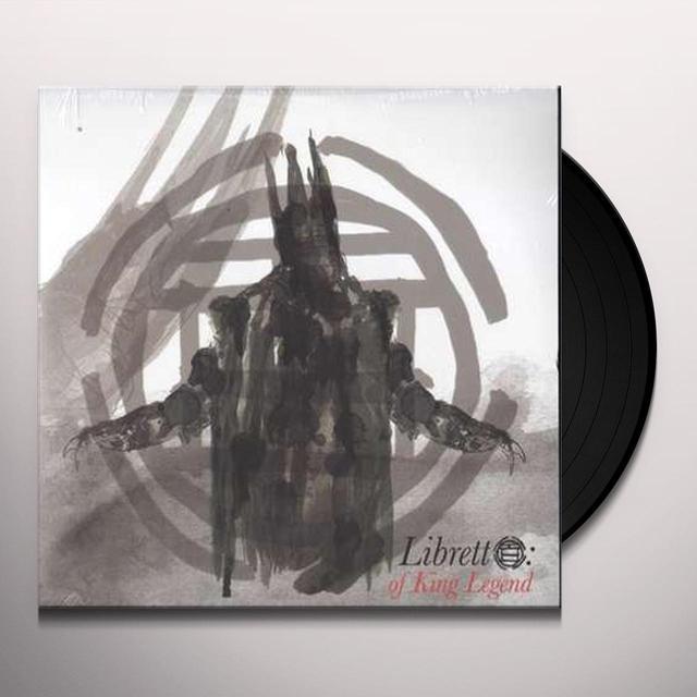 Black Opera LIBRETTO: OF KING LEGEND Vinyl Record