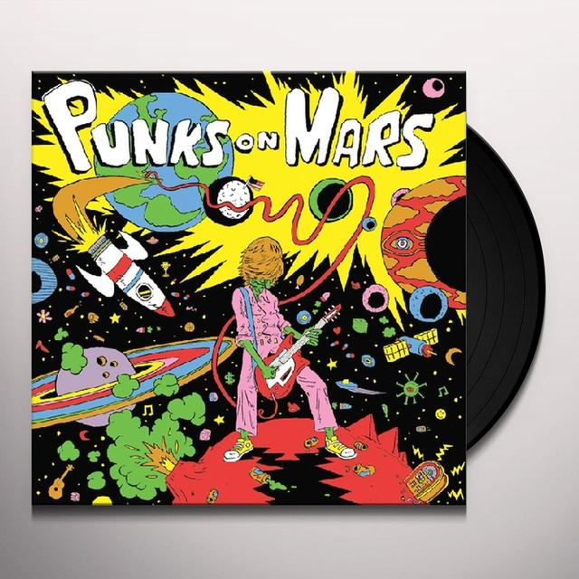 Punks On Mars BAD EXPECTATIONS Vinyl Record