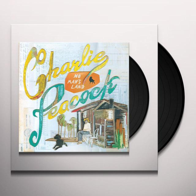 Charlie Peacock NO MAN'S LAND Vinyl Record