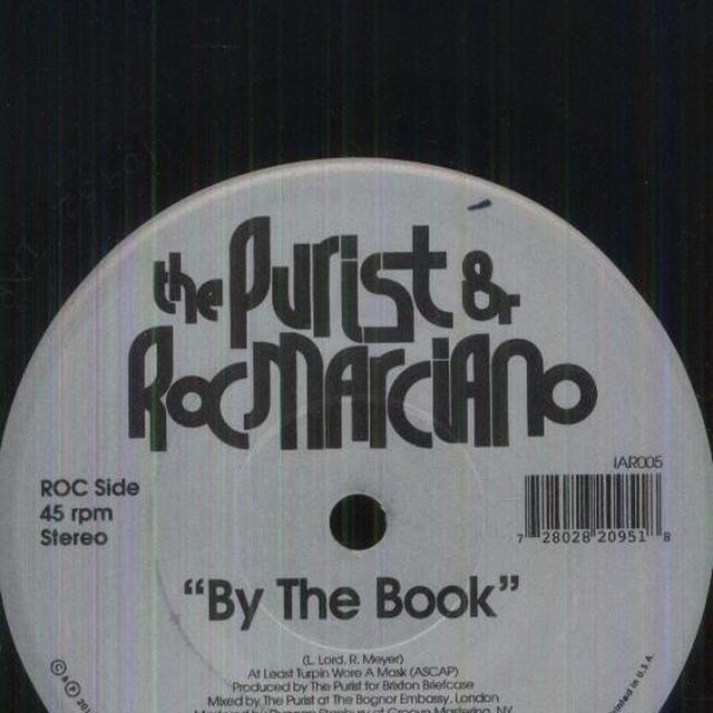 Purist & Roc Marciano BY THE BOOK Vinyl Record