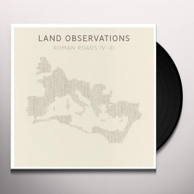 Land Observations ROMAN ROADS IV - XI Vinyl Record - w/CD