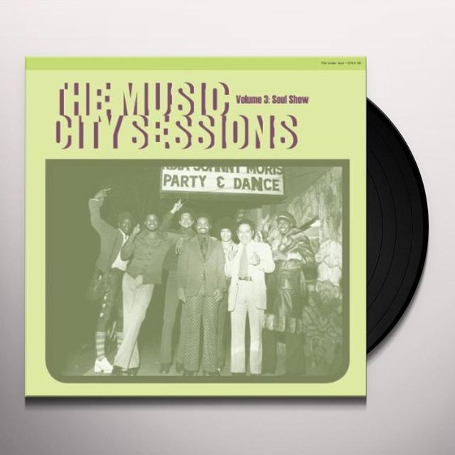 Music City Sessions 3 / Various (Dlcd) MUSIC CITY SESSIONS 3 / VARIOUS Vinyl Record - Digital Download Included