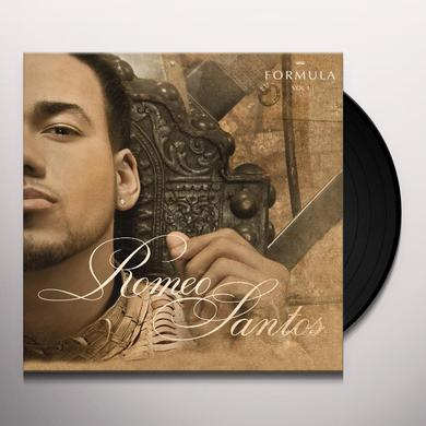 Romeo Santos FORMULA 1 Vinyl Record