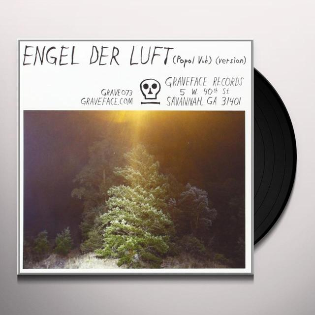 Mount Eerie WORLD HEAVES / ENGEL DER LUFT Vinyl Record