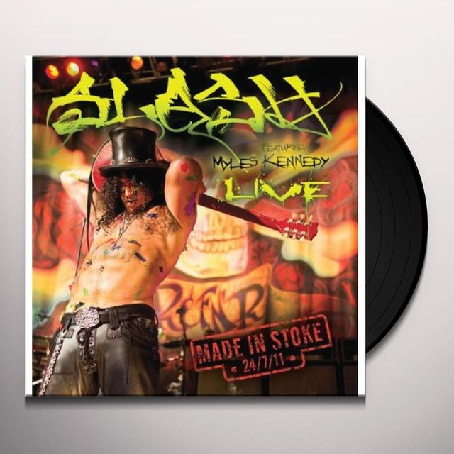 Slash MADE IN STOKE 24/7/11 (Vinyl)