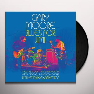 Gary Moore BLUES FOR JIMI: LIVE IN LONDON Vinyl Record
