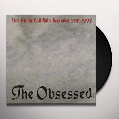 Obsessed LIVE IN KOLN Vinyl Record