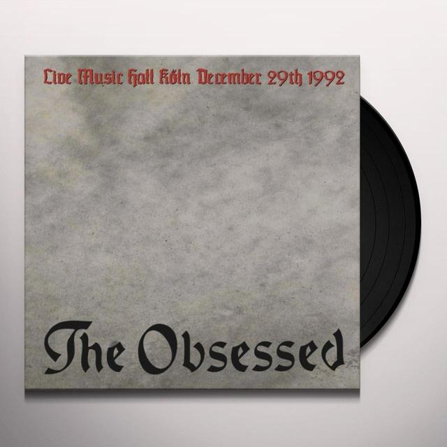 Obsessed LIVE IN KOLN Vinyl Record - Limited Edition