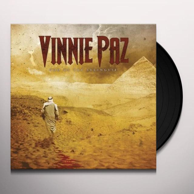 Vinnie Paz GOD OF THE SERENGETI Vinyl Record