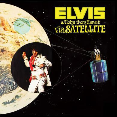 Elvis Presley ALOHA FROM HAWAII VIA SATELLITE Vinyl Record