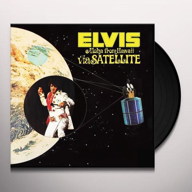 Elvis Presley ALOHA FROM HAWAII VIA SATELLITE Vinyl Record - Limited Edition, 180 Gram Pressing