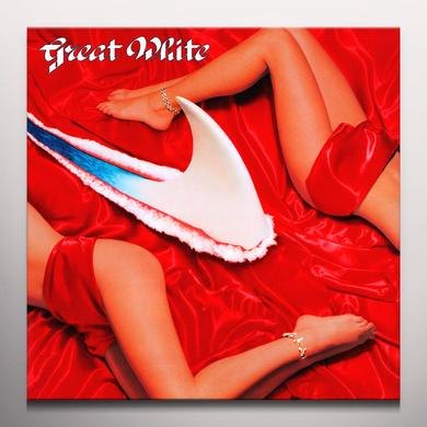 Great White TWICE SHY Vinyl Record - Colored Vinyl, 180 Gram Pressing