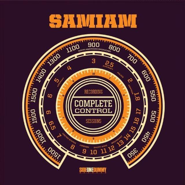 Samiam COMPLETE CONTROL SESSIONS Vinyl Record