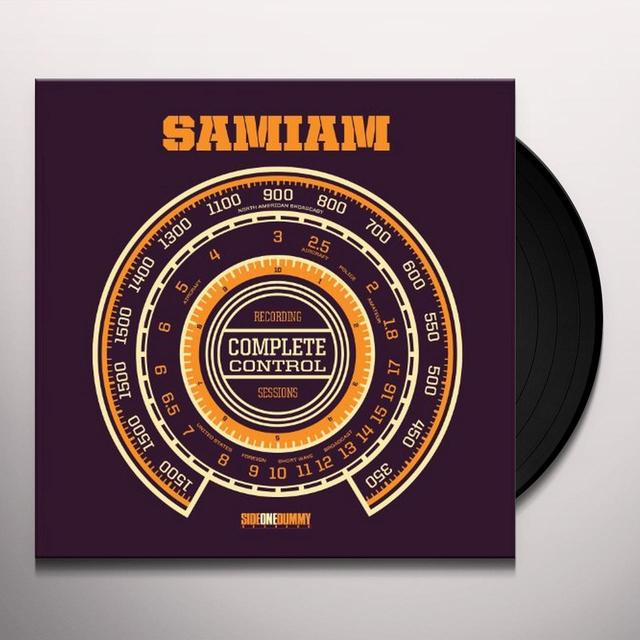 Samiam COMPLETE CONTROL SESSIONS Vinyl Record - MP3 Download Included