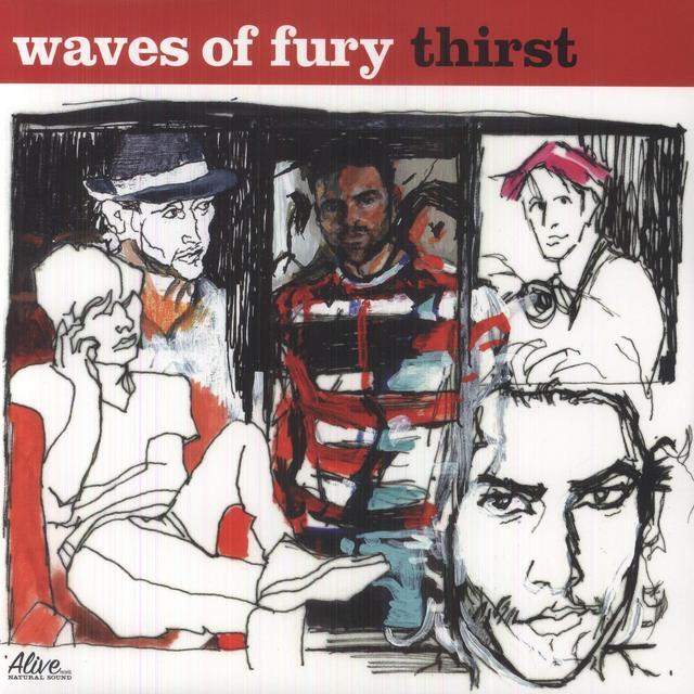 Waves Of Fury THIRST Vinyl Record