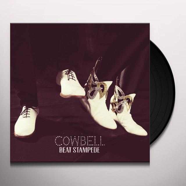 Cowbell BEAT STAMPEDE Vinyl Record