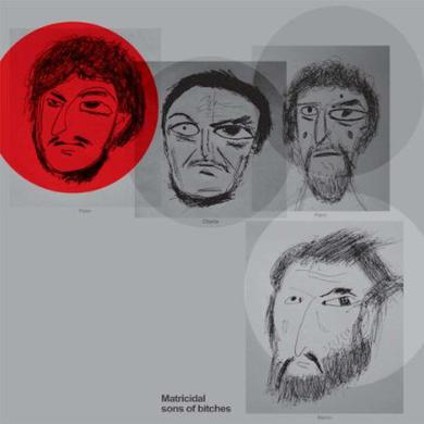 Matthew Friedberger MATRICIDAL SONS OF BITCHES Vinyl Record