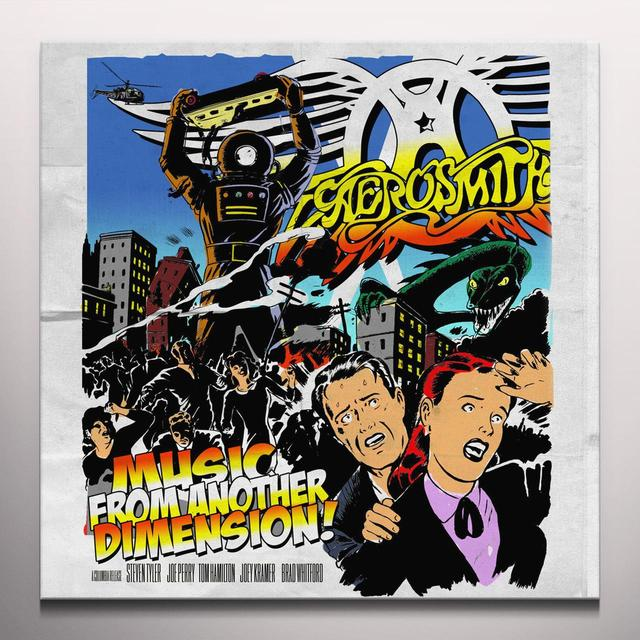 Aerosmith MUSIC FROM ANOTHER DIMENSION Vinyl Record - w/CD, Colored Vinyl