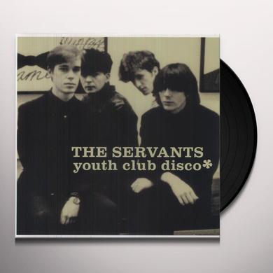 Servants YOUTH CLUB DISCO Vinyl Record