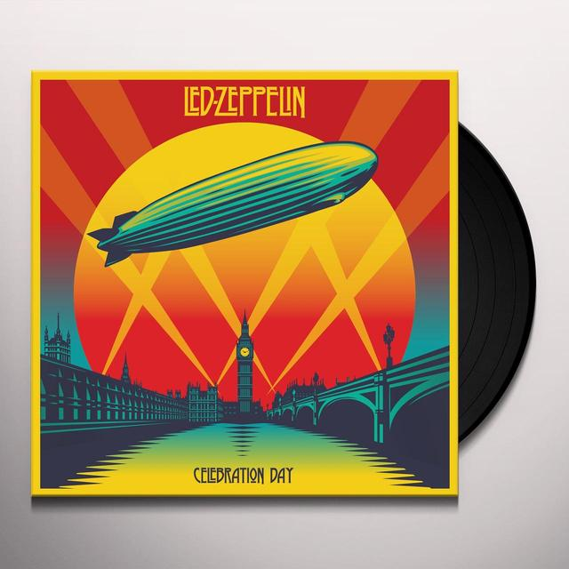 Led Zeppelin CELEBRATION DAY Vinyl Record - 180 Gram Pressing