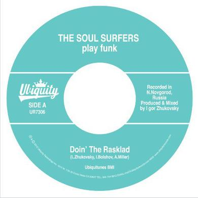 Soul Surfers DOIN THE RASKLAD / GIRL FROM SAO PAOLO Vinyl Record