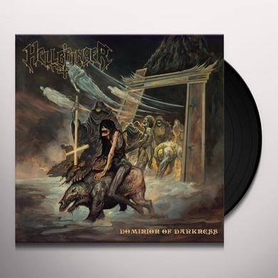 Hellbringer DOMINION OF DARKNESS Vinyl Record