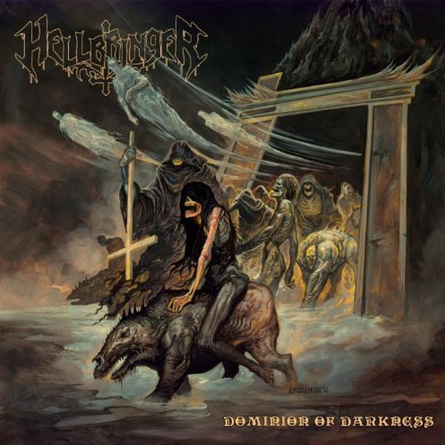 Hellbringer DOMINION OF DARKNESS Vinyl Record