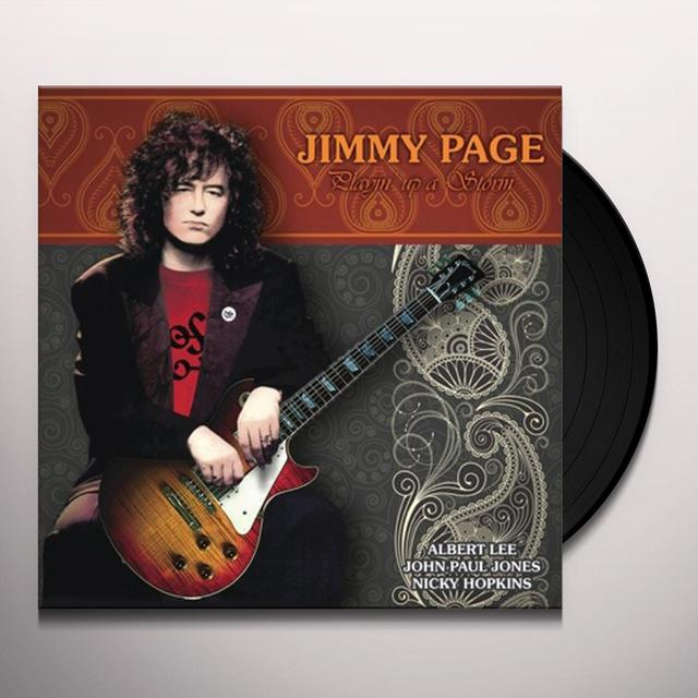 Jimmy Page PLAYIN UP A STORM (GER) Vinyl Record