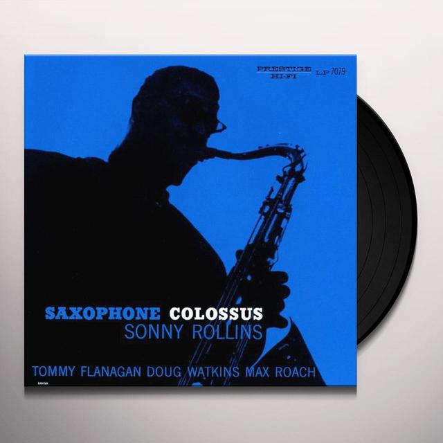 Sonny Rollins SAXOPHONE COLOSSUS Vinyl Record - Japan Import, 180 Gram Pressing